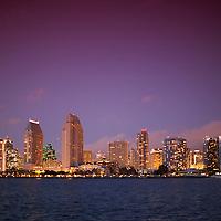Photos of San Diego from Coronado Island at Centennial Park, California