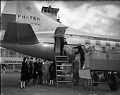 1953 - Irish Red Cross supplies for Holland being loaded at Dublin Airport