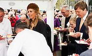 25-4-2015 ZWOLLE - Koning Willem-Alexander en Koningin M&aacute;xima bezoeken op zaterdagmiddag 25 april het festival Lang Leve de Club in Zwolle . Het Nationaal Comite 200 jaar Koninkrijk organiseert het festival om het recht op vrijheid van vereniging en vergadering te vieren . COPYRIGHT ROBIN UTRECHT<br /> 25-4-2015 ZWOLLE - King Willem-Alexander and Maxima Queen visits on Saturday April 25th, the festival Long Live Club in Zwolle. COPYRIGHT ROBIN UTRECHT