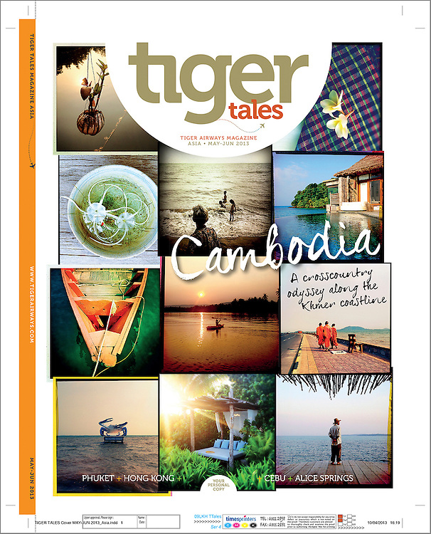 A cover travel story on the southern coast of Cambodia.
