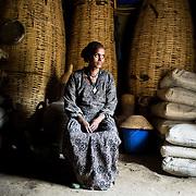 Mulu Haregot, 35, at home in Adi Sibhat, Tigray, Ethiopia