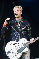 Tommy Sparks plays the main arena..Rockness, Saturday 13th June 2009..Pic © Michael Schofield. All Rights Reserved.