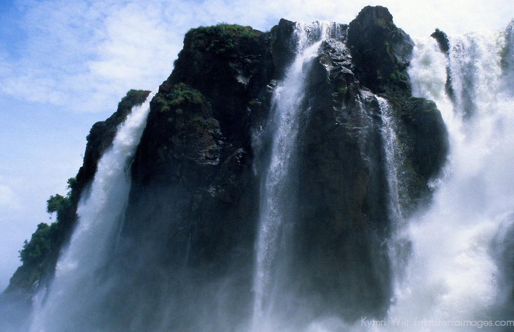 South America; Latin America; Argentina; Brazil; Iguacu Falls.