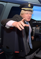 Boris Johnson Opening of The Emirates Aviation Experience.<br />