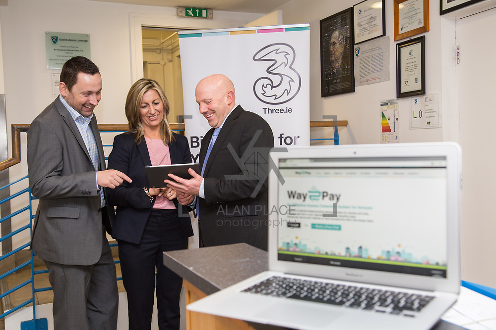 10.03.2017<br /> Way2Pay launch, Gaelcholaiste Luimni. Picture: Alan Place