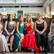 Ashlee and Friends Prom Portraits