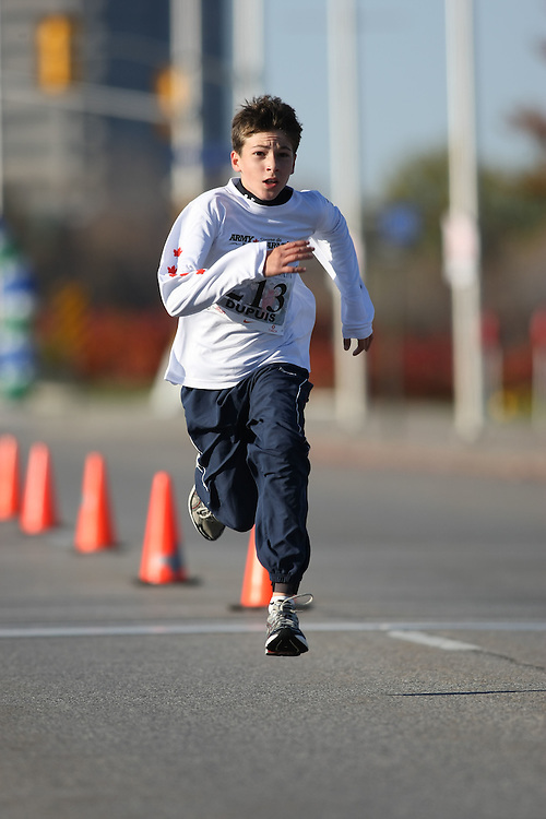 (Ottawa, ON---18 October 2008) ALEXANDRE DUPUIS runs in the 2008 5km challenge at the TransCanada 10km Canadian Road Race Championships. Photography copyright Sean Burges/Mundo Sport Images (www.msievents.com).