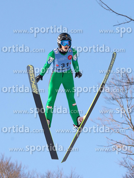 31.01.2015, Energie AG Skisprung Arena, Hinzenbach, AUT, FIS Ski Sprung, FIS Ski Jumping World Cup Ladies, Hinzenbach, Wettkampf im Bild Eva Pinkelnig (AUT) // during FIS Ski Jumping World Cup Ladies at the Energie AG Skisprung Arena, Hinzenbach, Austria on 2015/01/31. EXPA Pictures © 2015, PhotoCredit: EXPA/ Reinhard Eisenbauer