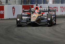 "LONG BEACH, CA - APRIL 9 James Hinchcliffe, driving the No. 5 Arrow Honda, won the 2017 Toyota Grand Prix of Long Beach to collect his fifth career Verizon IndyCar Series win and first in nearly two years. He was a semi-finalist in ""Dancing with the Stars"" night's season. 2017 April 9.  Byline, credit, TV usage, web usage or linkback must read SILVEXPHOTO.COM. Failure to byline correctly will incur double the agreed fee. Tel: +1 714 504 6870."