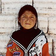 Bolivia, Uyuni. Girls working on Uyuni Salt Lake in Bolivia. All miners working in the Salar belong to Colchani's cooperative.<br /> Photo&copy;AmayaRoman/Workers'Photos
