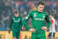 ROTTERDAM - Feyenoord - FC Groningen , Voetbal , Eredivisie , Seizoen 2016/2017 , Feijenoord stadion de Kuip , 11-02-2017 ,    Eindstand 2-0 , FC Groningen speler Etienne Reijnen baalt