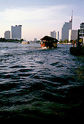 Rice barge on the Chao Phraya river