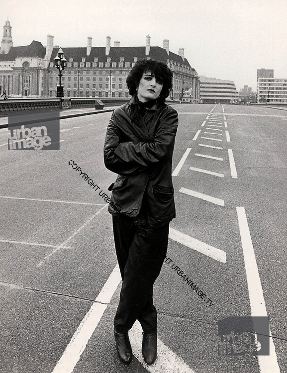 Siouxsie Sioux at Westminster 1980