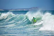 Surfing in Cabo San Lucas, Baja California Sur, Mexico
