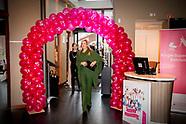 Koningin Maxima bezoekt, ter gelegenheid van Internationale Vrouwendag, een bijeenkomst van Stichtin