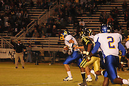 Oxford High's Ethan Holmes (12) vs. New Hope in New Hope, Miss. on Friday, September 30, 2011. New Hope won 43-22.