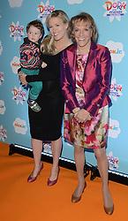 Benjamin Moss, Rebecca Wilcox and Esther Rantzen  attend Dora and Friends TV Premiere at Empire Leiceter Sq, London on Sunday 2.11.2014