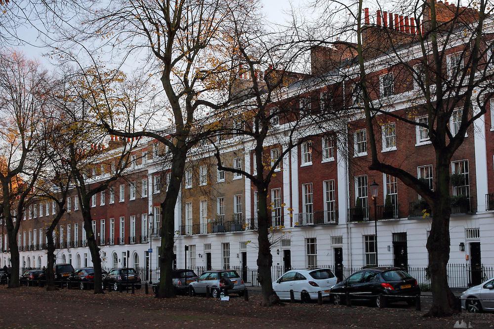 Imposing Georgian Terraces on The Royal Avenue, Chelsea, London