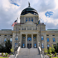 Montana State Capitol Building in Helena, Montana<br />