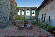 Mission San Juan Capistrano Bell Courtyard