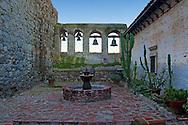Mission San Juan Capistrano Bell Courtyard