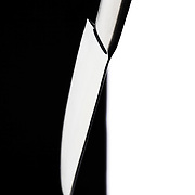 Abstract cutlery knife