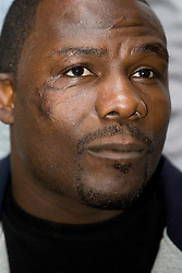 May 10, 2006 - New York, NY - WBC Heayweight Champion Hasim Rahman at the press conference announcing his upcoming defense against Oleg Maskaev.  The two will meet on Saturday, August 12, 2006 at the Thomas & Mack Center in Las Vegas, NV.