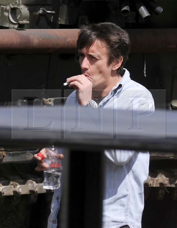 Jeremy Clarkson Richard Hammond Smoking Top Gear Tanks | Londo...