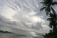 The islands of Kiribati in the South Pacific are endangered by rising sea water levels which are eroding the fragile atoll, home to approximately 92,000 people.