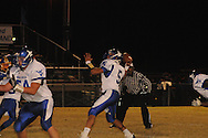 Water Valley's E.J. Bounds (5) vs. Mantachie in Mantachie, Miss. on Friday, October 28, 2011.
