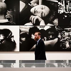 London, UK - 8 October 2012: Tate Modern opens William Klein + Daido Moriyama exhibition that examines the relationship between the work of William Klein (b.1928) and that of Daido Moriyama (b.1938). Taking as its central theme the cities of New York and Tokyo, the show explores both artists' celebrated depictions of modern urban life.
