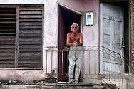 Watching the flood Holguin, Cuba.