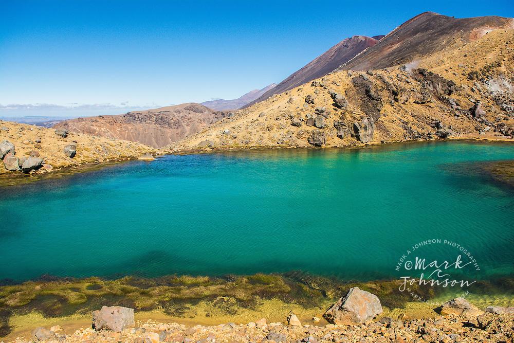 Emerald Lakes, Northern Circuit hike, Tongariro National Park, North Island, New Zealand