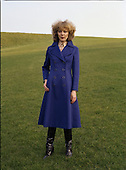 1978 - Modeling two coats for Janelle (L66)