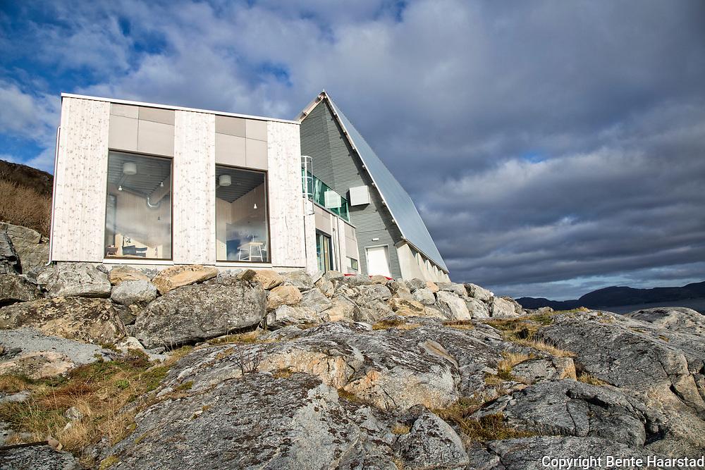 Bygdeboksen er en del av prosjektet Bygda 2.0, og det er satset på moerne og stedstilpasset akritektur.