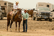 Will James Roundup, Ranch Rodeo, Working Ranch Horse, Hardin, Montana, Reata Brannaman with dad Buck Brannaman .