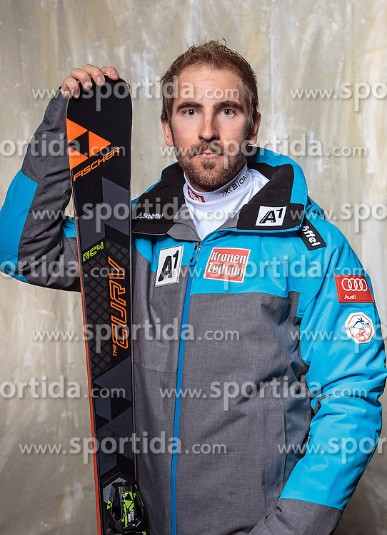 08.10.2016, Olympia Eisstadion, Innsbruck, AUT, OeSV Einkleidung Winterkollektion, Portraits 2016, im Bild Max Zettinig, Ski Alpin Herren // during the Outfitting of the Ski Austria Winter Collection and official Portrait Photoshooting at the Olympia Eisstadion in Innsbruck, Austria on 2016/10/08. EXPA Pictures © 2016, PhotoCredit: EXPA/ JFK