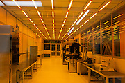 A recently completed clean Nano Fabrication laboratory is seen on the soon to be inaugurated King Abdullah University of Science and Technology (KAUST) KAUST campus September 21, 2009 (about 80 kilometers north of Jeddah.) The laboratory is a clean-room environment equipped with leading-edge tools to support research in advanced materials, bio technology, electronics/photonics, and MEMS/NEMS. Handout photo by Scott Nelson