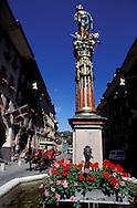 Gerechtigkeitsbrunnen, City of Bern, Bern Canton, Switzerland
