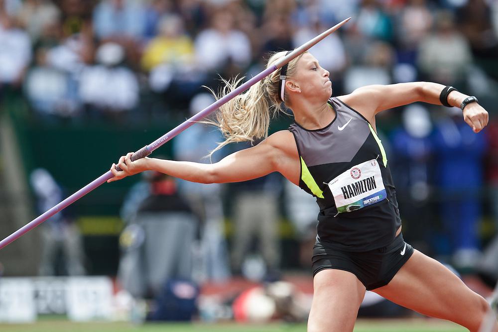 Olympic Trials Eugene 2012: women's Javelin, Hamilton