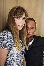 Isabelle Carre with Benoit Poelvoorde (Paris, Sept. 2011)