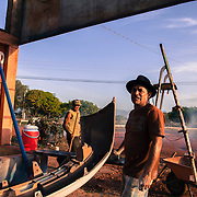 "Osiris, called also ""O Maradona"" by his Brazilian friends. A mechanic from Parà state in Brazil. Separated. His sons and wife live in Manaus. He tried to work many times in different places of Brazil but he menaged to open his own business in Lethem, Guyana. He has been living in Guyana for the past 4 years"