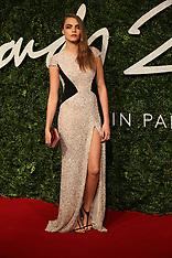 DEC 01 2014 British Fashion Awards