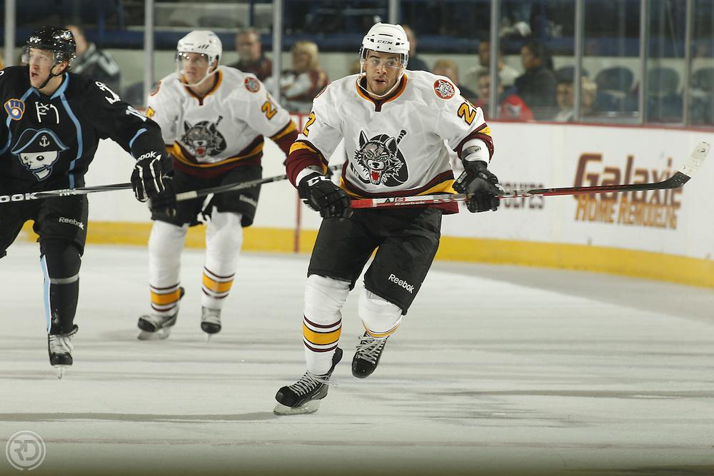 Chicago Wolves 2011-12 Season.Photograph by Ross Dettman..#22 Darren Archibald