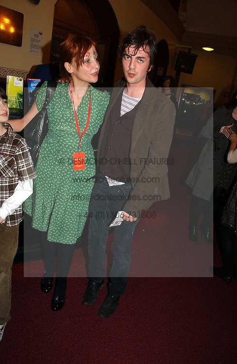 PEARL LOWE and DEAN GOFFEY at the opening night of Cirque Du Soleil's 'Alegria' held at the Royal Albert Hall, London on 5th January 2007.<br />