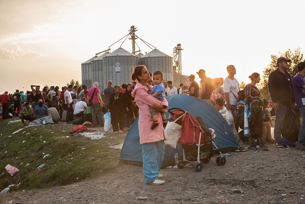 Croazia, settembre 2015. Viaggio tra i rifugiati entro i confini croati.