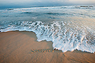 Simunye is a Zulu word meaning 'we are one'  Egypt Beach, East Hampton, Long Island, NY