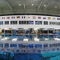 2009 Private tour of NASA neutral buoyancy lab at Johnson Space Center in Houston, Texas on Monday, August 31, 2009. Astronauts are trained for EVA (extra vehicular activities) or space walks in the pool is the largest pool in the world, it measures 200 ft by 120 ft by 40 ft deep. Holly Ayala works as a diver there. Met astronauts Shayne Kimbrough, Dorothy Metcalf-Lindenburger and Commander Mike Mossismo.  Dorothy is headed up on the space shuttle in March of 2010, which is the 4th to last shuttle mission.