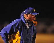 Oxford coach Johnny Hill vs. Vicksburg in MHSAA Class 5A playoff action in Oxford, Miss. on Friday, November 15, 2013. Oxford won 50-7.