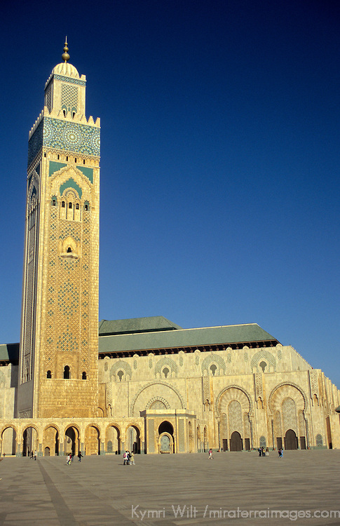 North Africa, Morocco, Casablanca. Hassan II Mosque